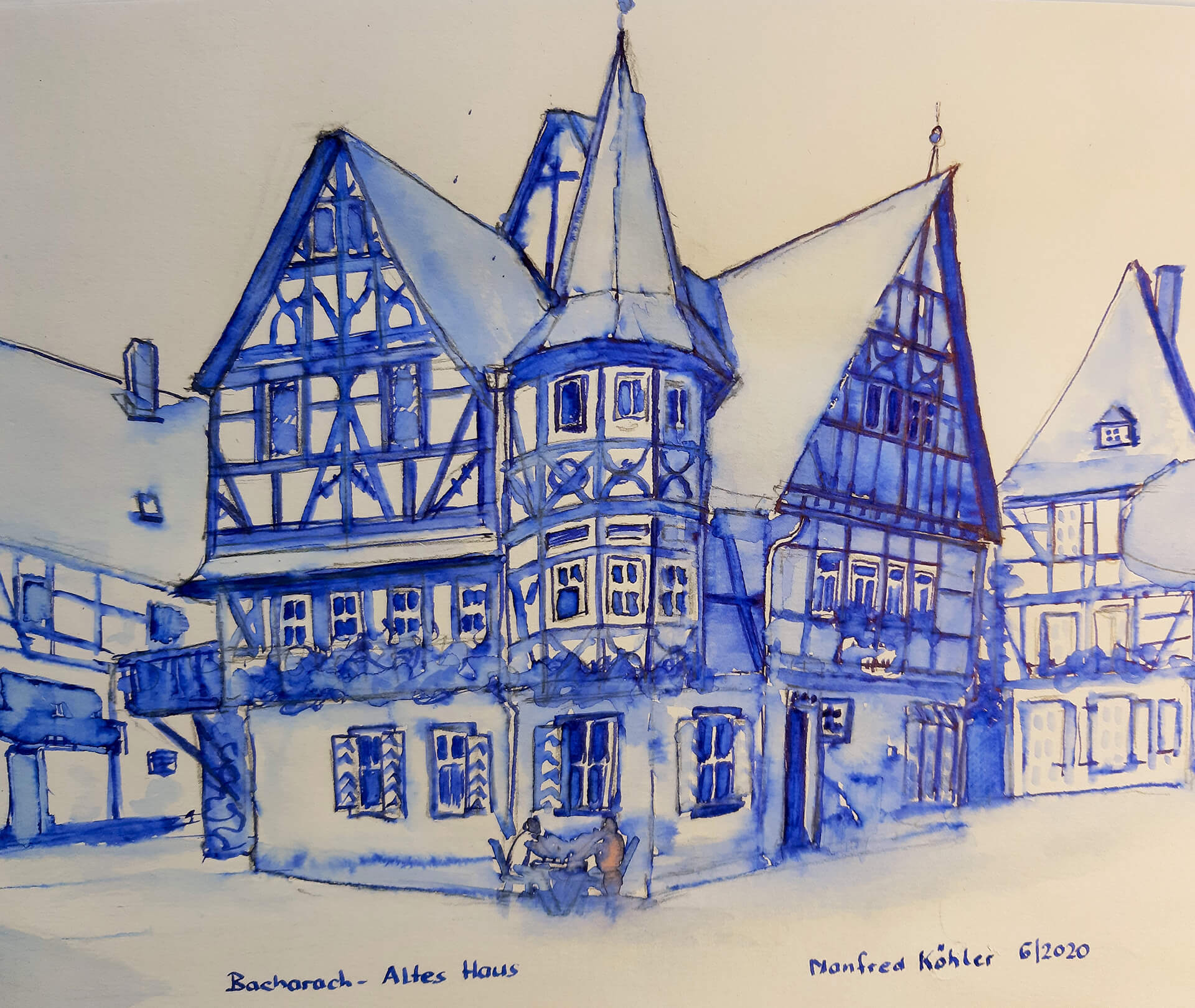 Koehler-Manfred-Bacharach-Altes-Haus-USK-06.2020