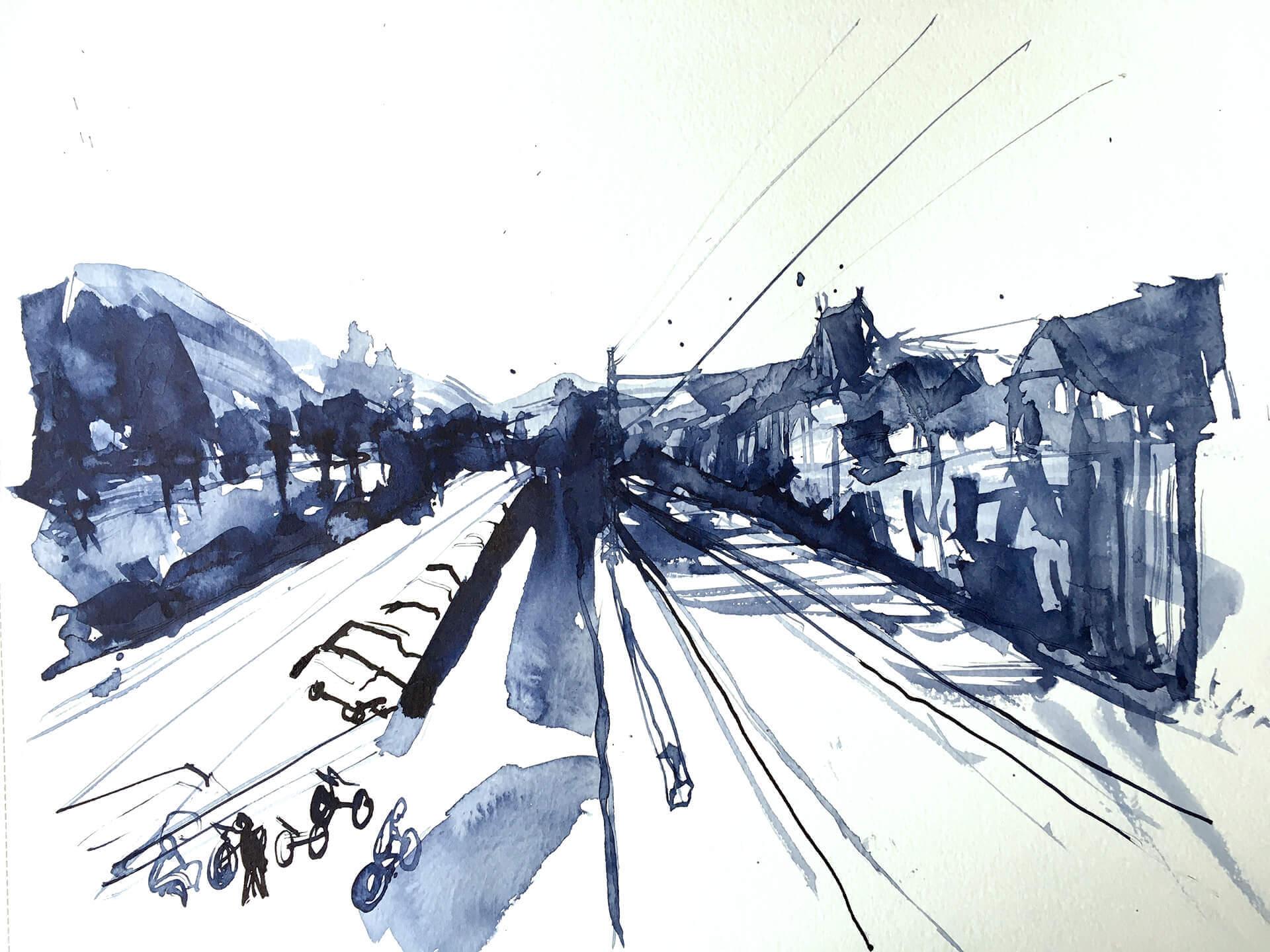 Nilges-Anne-Bacharach-Bahnlinie