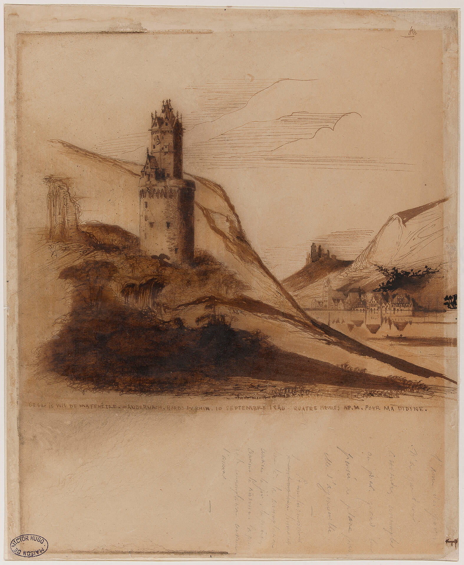 Brief 13 – Runder Turm
