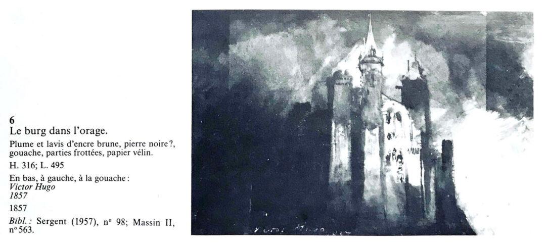 Victor Hugo Zeichnungen CC Maisons Victor Hugo