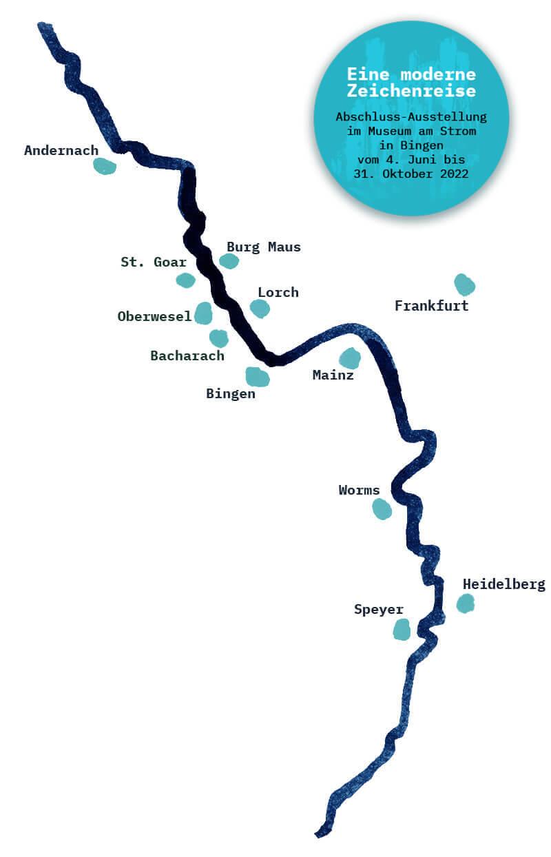 Karte Sketchwalks