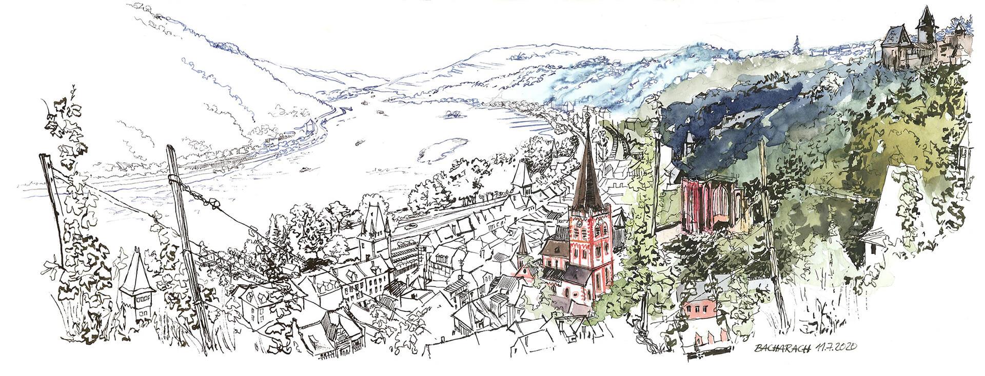 Panorama Bacharach